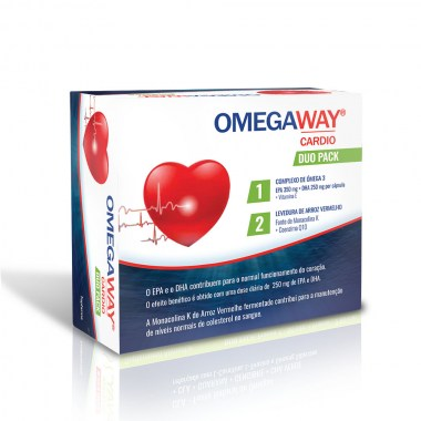 OMEGAWAY® CARDIO DUO PACK 60 + 60 caps