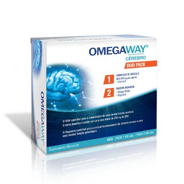 OMEGAWAY® CÉREBRO DUO PACK 60 + 60 caps