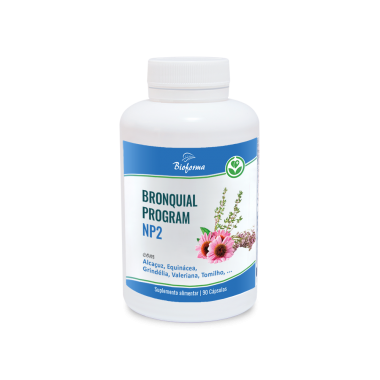 Bronquial PROGRAM NP2 90 caps BIOFORMA